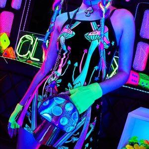 Club Exx Strange Magic Glow Dress